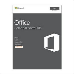 Microsoft Office Home & Business 2016 f/ Mac 1utilisateur(s) Fra